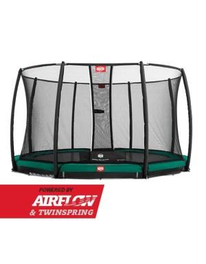 BERG Inground Champion Green 430 + Safety Net Deluxe
