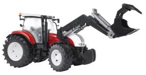 Bruder 2082 Tractor Steyr CVT 170 met voorlader
