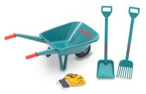 Bosch 4-delige tuinset met kruiwagen