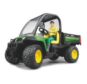 Bruder 02490 John Deere Gator 855D met chauffeur