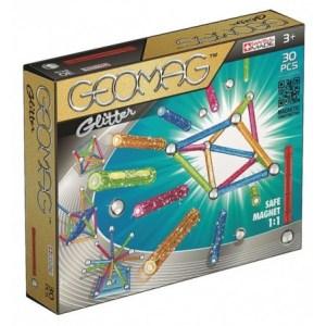 Geomag glitter - 30 delig