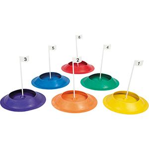 Golf Putting cups - set van 6 stuks