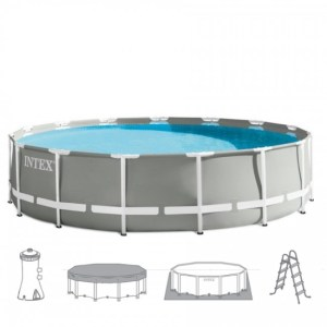 Intex Prism Frame Pool 457 x 122 cm. Complete set - Zwembad