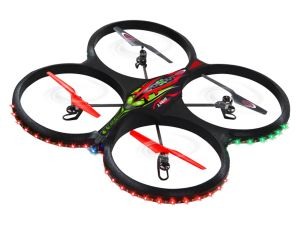 Drone Jamara Flyscout Quadrocopter Compass/LED