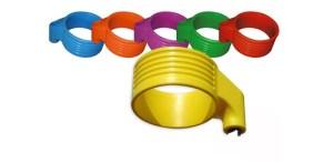 Kunststof korfbalkorf diverse kleuren