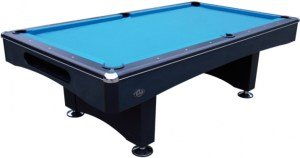Pooltafel Eliminator II 8 ft met leiplaat zwart