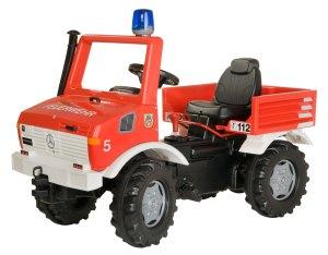 Rolly Unimog Brandweer - Trapauto