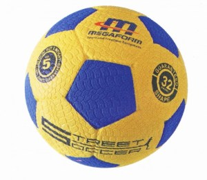 Voetbal Megaform Streetsoccer Maat 5