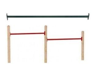 Duikelrek Duo Rood / Groen 90 cm.