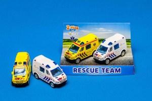 Ambulance en politieauto - speelset 2Play Traffic