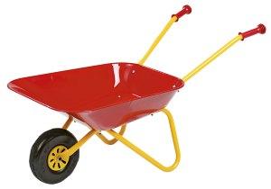 kinderkruiwagen -rood- Rollytoys-metaal