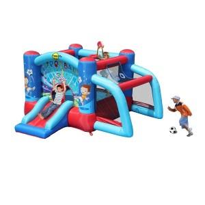 Springkussen Happy Hoop Football Bouncer