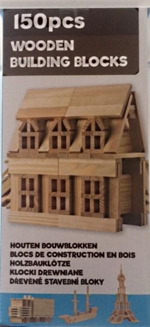 Bouwplankjes City Blocks 150 stuks