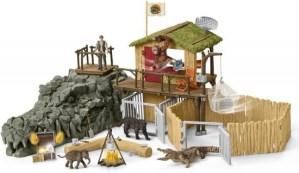 Jungle Onderzoeksbasiskamp - Schleich 42350