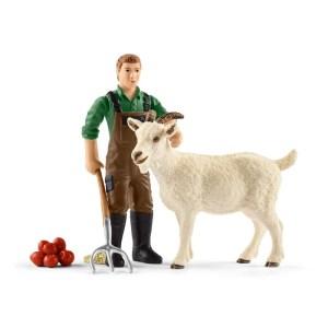 Boer met geit - Schleich 42375