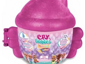 Cry Babies Winged House speelset roze