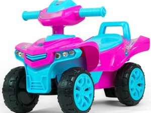 Milly Mally Loopquad monster roze/blauw