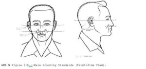 pride bn grooming standards for males mcjrotc pride battalion
