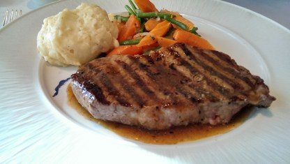 Steak - Celebrity Infinity Blu Restaurant