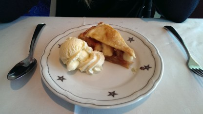 Apple Pie - Celebrity Infinity Blu Restaurant