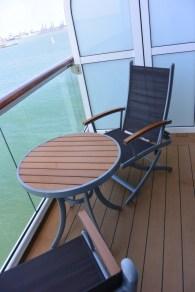 Celebrity Infinity Aqua Class Kabine 1113 Balkon