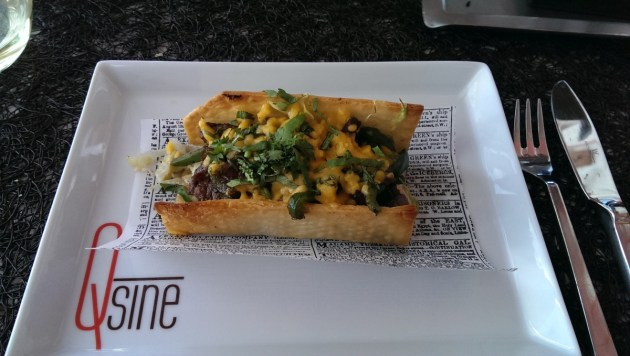 Taco - Celebrity Infinity Qsine Restaurant