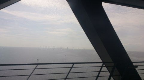 Well this is a view from the train on the bridge heading to Denmark
