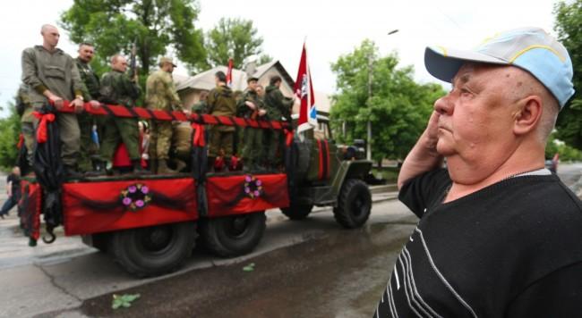 Похороны Алексея Мозгового. Фото AFP/Scanpix