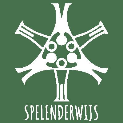 Spelenderwijs logo wit klein