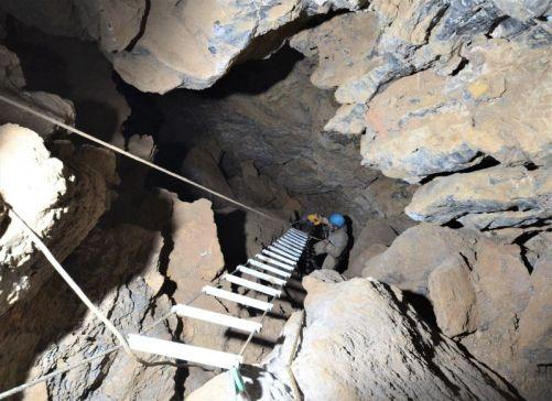 Montáž rebríka vo Veľkom kaňone