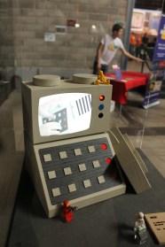 En autentisk lego-tv, som fungerade!
