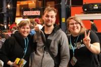 En Spelberget-lyssnare kom fram och självklart tog vi en bild tillsammans!