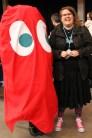Samt ett spöke från Pac-Man! Minns ni vad det röda spöket heter?
