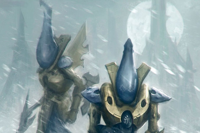 Iyanden Craftworld Eldar Ghost Army