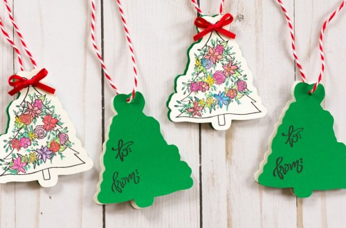 Open Me Holiday Gift Tags by Alli Roth for Spellbinders Paper Arts Featured Image