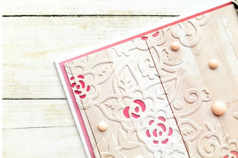Cut & Emboss Folders Inspiration | Everyday Cards With Enza for Spellbinders using CEF-005 Floret Cluster, CEF-002 Flower Garden, CEF-004 Baroque Filigree, CEF-003 Rose Flourish #spellbinders #embossing #cardmaking #neverstopmaking