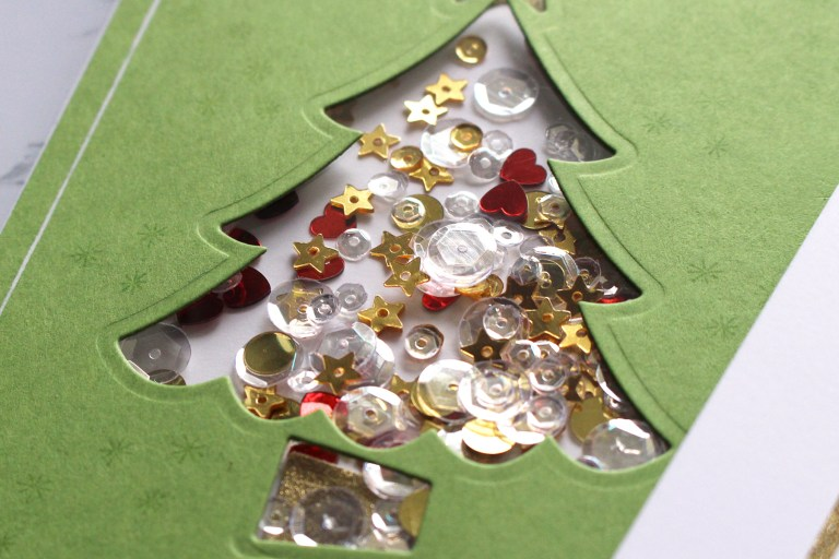 Spellbinders Die D-Lites Holiday Inspiration | Christmas Tree Cards with Kimberly Crawford featuring S3-361 Christmas Tree dies #spellbinders #neverstopmaking #diecutting