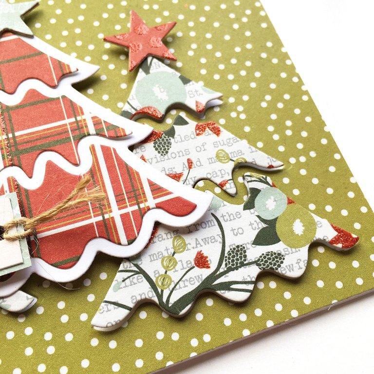 Spellbinders Die D-Lites Holiday Inspiration | It's Christmas with Enza Gudor featuring S3-361 Christmas Tree, S3-359 Santa, S3-360 Snowman, S3-358 Reindeer. #spellbinders #neverstopmaking #diecutting