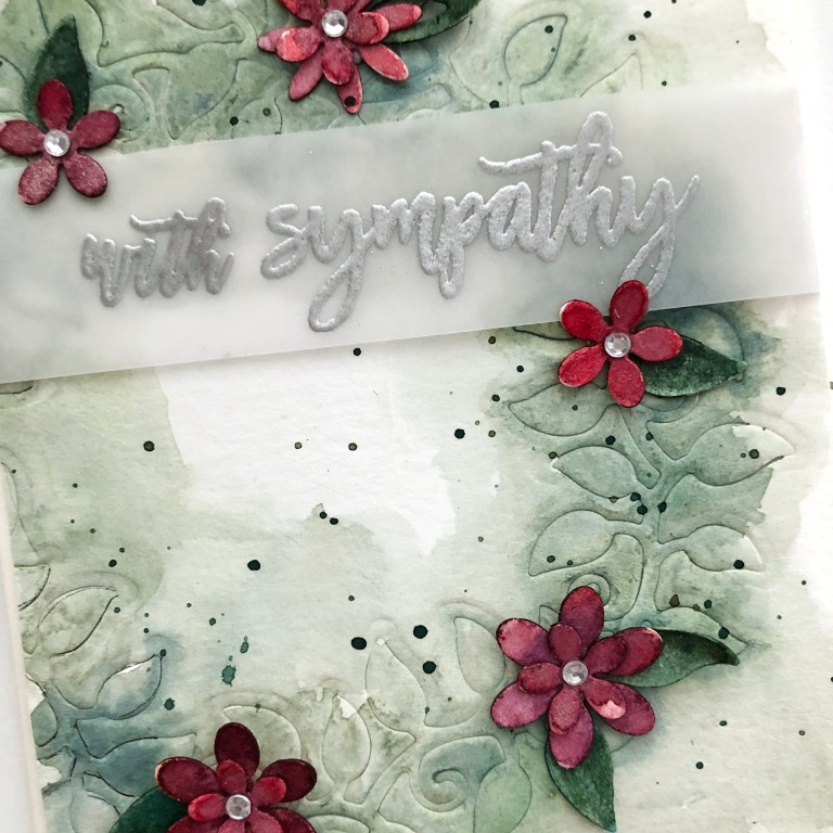 Exquisite Splendor collection by Marisa Job - Inspiration | Watercolor Cards by Norine Borys for Spellbinders