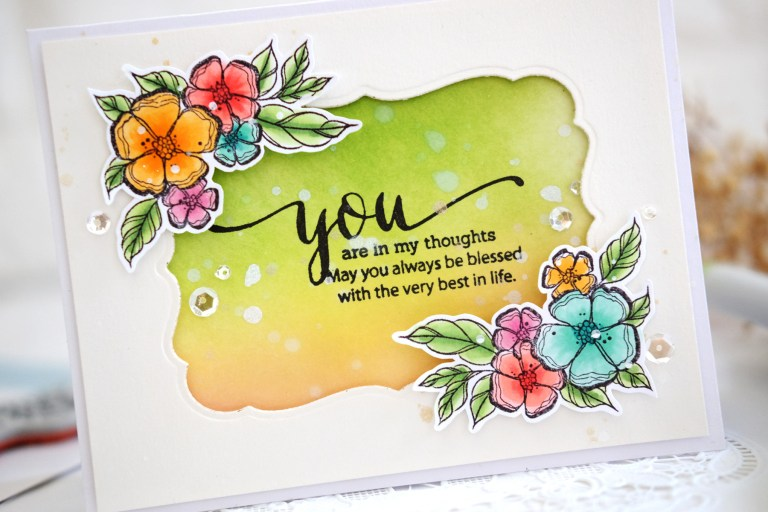 Just Add Color Collection by Stephanie Low - Inspiration   Clean & Simple Stamped Cards with Vera Rhuhay for Spellbinders
