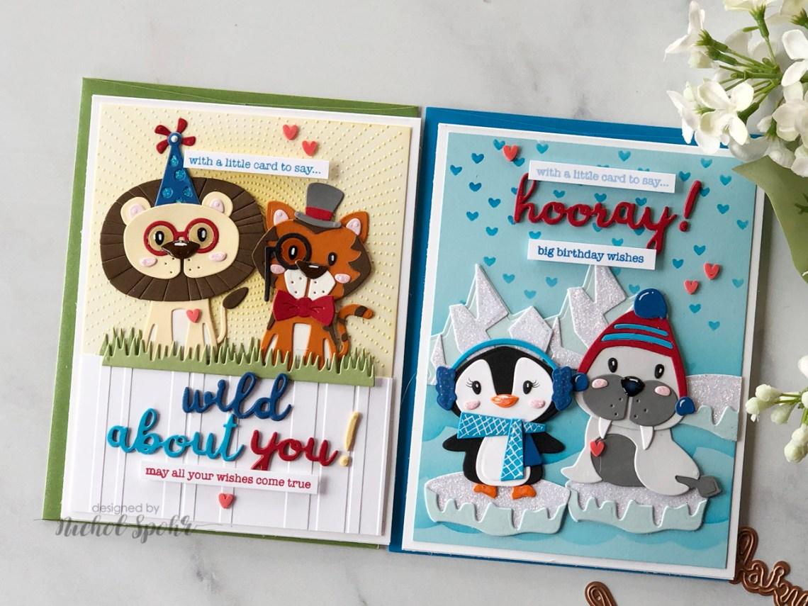 Video: Die D-Lites Animal Scene Cards with Nichol