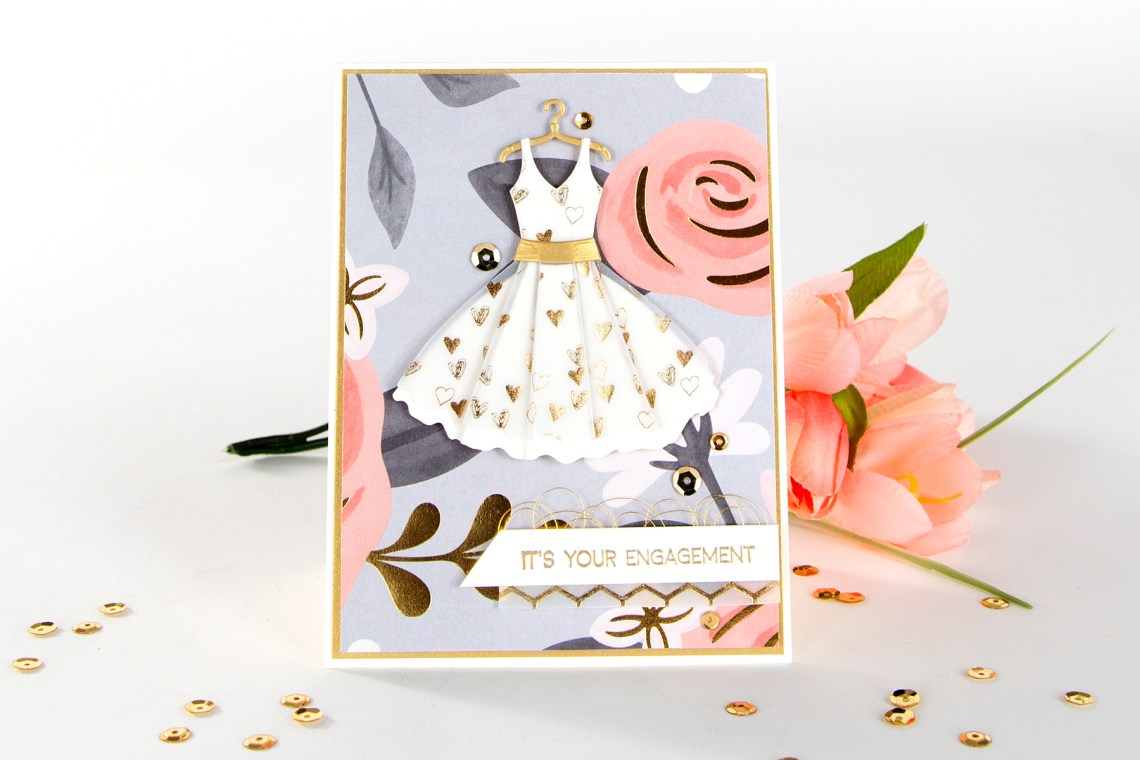 Using Just Stamps & Dies! April Night Out 2019 Card Kit of the Month Edition