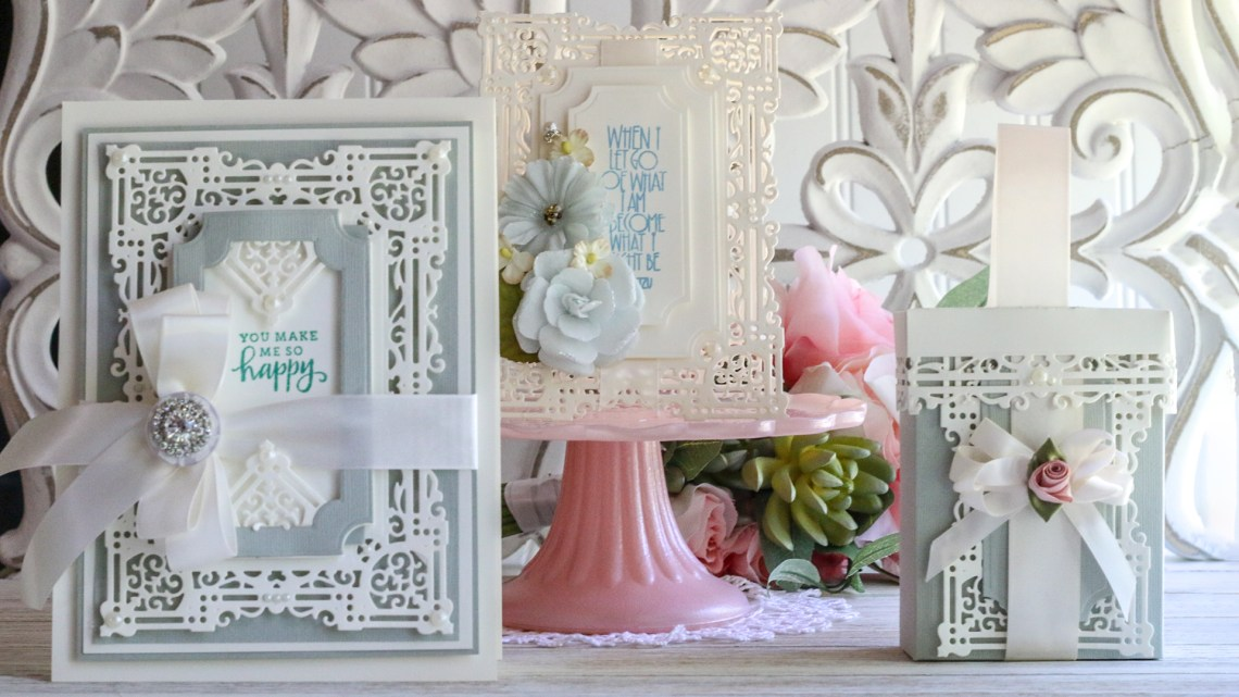 May 2019 Amazing Paper Grace Die of the Month is Here – Nostalgic Serenade Card Frame