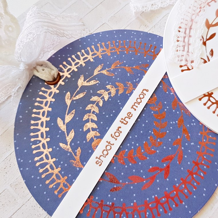 Glimmer Hot Foil Inspiration | Foiled Cards with Zsoka