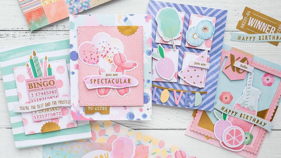 Spellbinders Card Club Kit Extras - Super Chill! June 2019 Edition