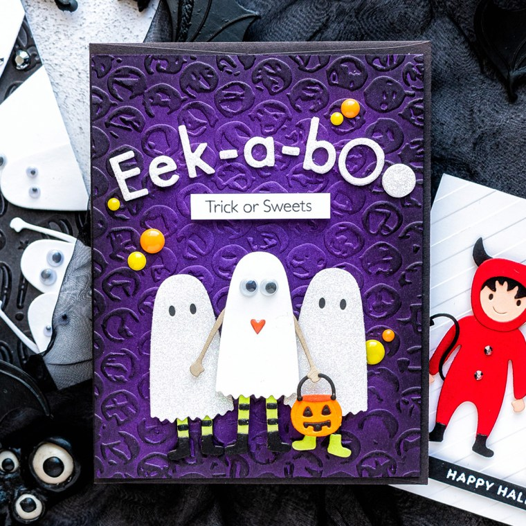 Spellbinders September 2019 Small Die of the Month is Here – Eek-A-Boo