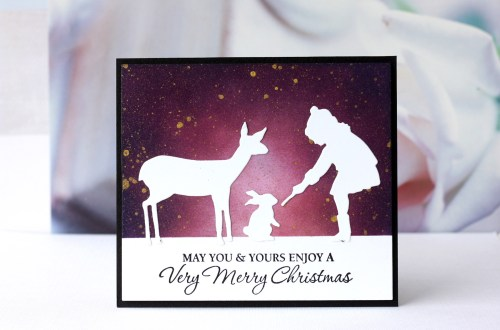 Spellbinders Sharyn Sowell Holiday 2019 Collection - Inspiration | Simple Holiday Cards with Karin Åkesdotter
