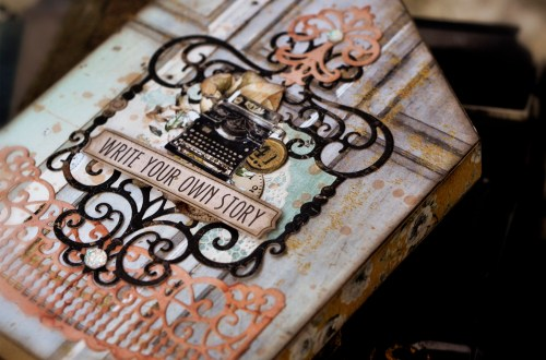 Spellbinders Candlewick Sampler Collection by Becca Feeken - Inspiration | Woodland Inspired Projects with Agnieszka