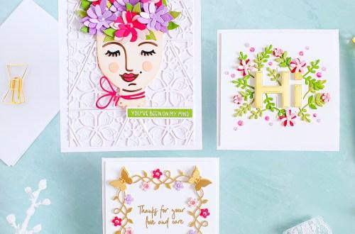 Spellbinders Die D-Lites Inspiration   Colorful Greeting Cards with Yasmin Diaz