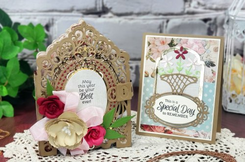 3D Vignette Mini Album Inspiration | Mini Album & Card By Sheri Holt